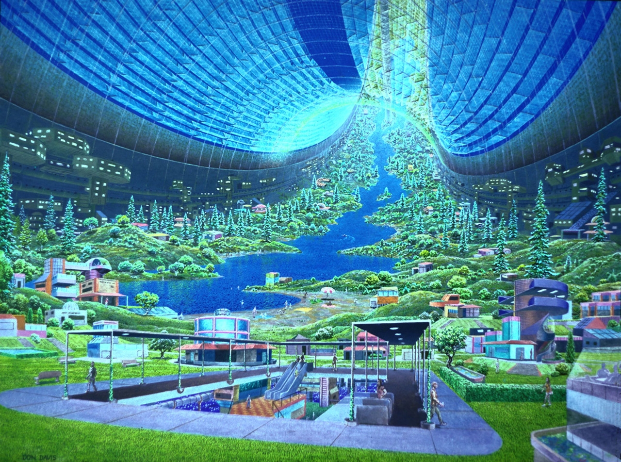 Donald Davis Nasa Space Colony #1