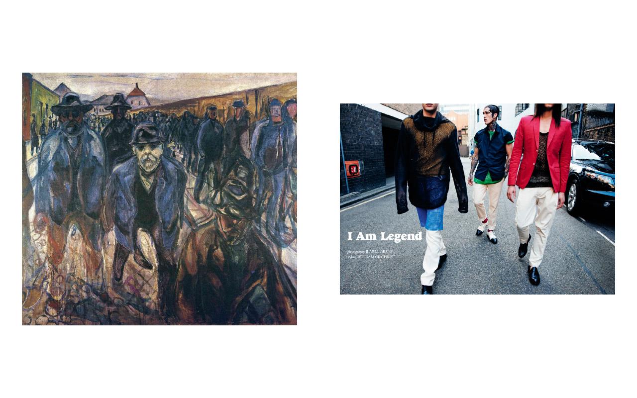 Edvard Munch Fashion #2