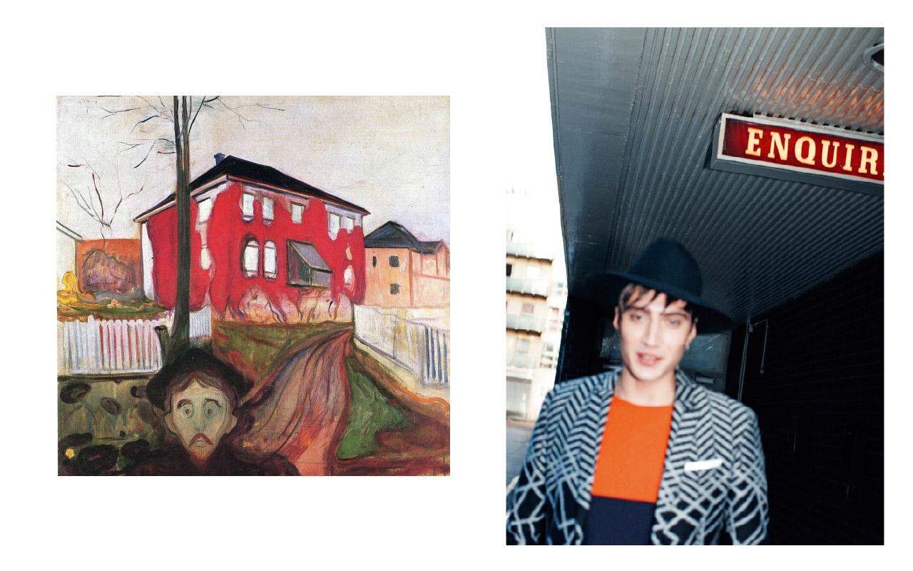Edvard Munch Fashion #6